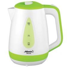 ATLANTA Чайник ATH-2376 green (дисковый)