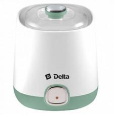 DELTA Йогуртница DL-8400 белый с серо-зеленым