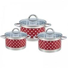 RAINSTAHL Набор посуды RS/CW 1626-06 Red