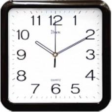 21 Век Часы настенные 7667 черные