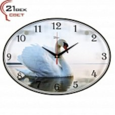 21 Век Часы настенные 2434-262 (24*34) овальные