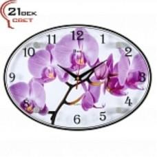 21 Век Часы настенные 2434-1069 (24*34) овальные