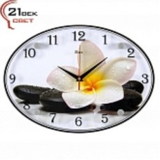 21 Век Часы настенные 2434-1239 (24*34) овальные