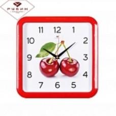 РУБИН Часы настенные 7667-244 (29 *29см) квадрат