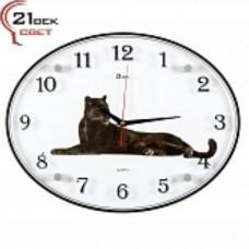 21 Век Часы настенные 3546-25 овальные
