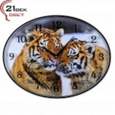 21 Век Часы настенные 3546-119  овальные