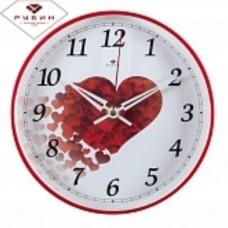 РУБИН Часы настенные 2019-100 (19,5 см) круглые