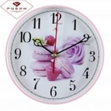 РУБИН Часы настенные 2019-102 (19,5 см) круглые