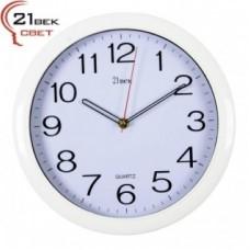 РУБИН Часы настенные 6026-W (белый)