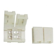 Ecola LED strip connector разъем зажимной 2-х конт.  8 mm уп. 5 шт.SC28SCESB