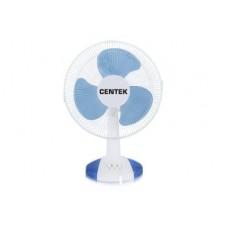 CENTEK Вентилятор CT-5006 голубой (настольный)