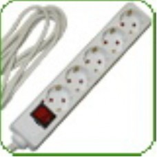 СТАРТ Удлинитель S 5х3-ZDV с выключателем