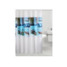ROSENBERG Штора RPE-730011 для ванной комнаты