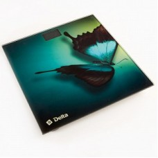 DELTA Весы напольные D-9227/1 электронные (Бабочка)