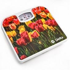 DELTA Весы напольные D-9407 (Тюльпаны)
